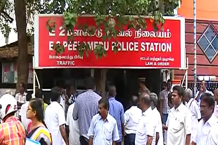 Complaint filed against AIADMK members for distributing T-shirts in Coimbatore