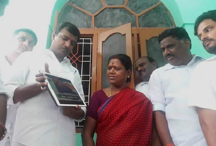Door-to-door campaign for digital era AIADMK cadres use iPads for poll campaign