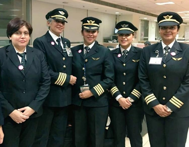 Air India makes history operates longest all-women crew international flight