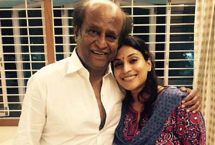 Aishwaryaas first disco date was with her father Rajinikanth