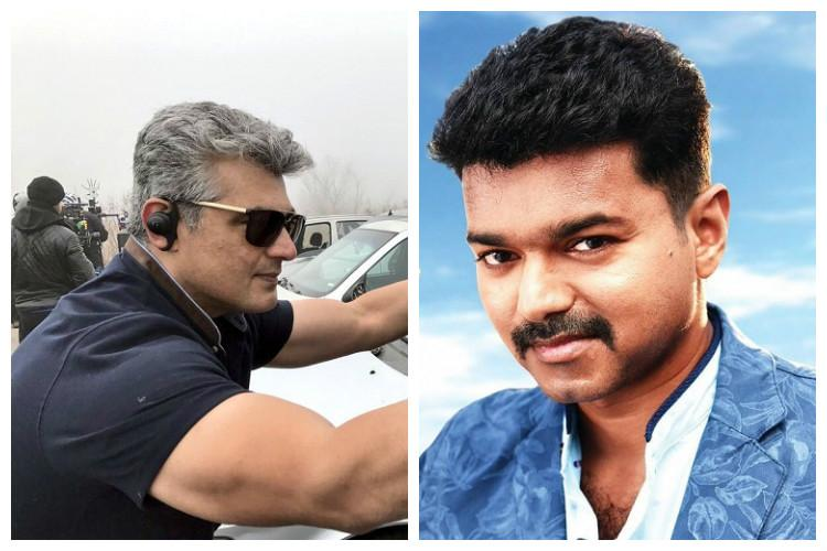 Music album of Ajiths Vivegam and teaser of Vijays 61 may be out on same date
