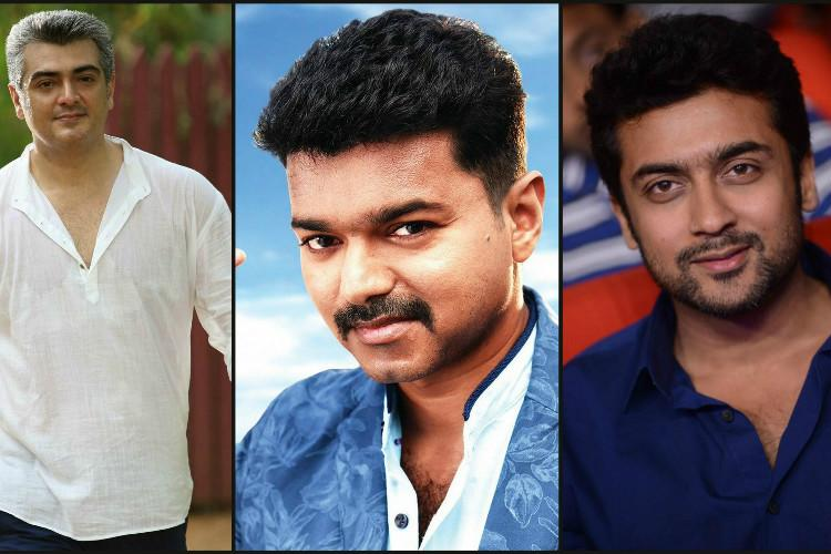 Could it be Vijay-Ajith-Suriya clash at the box office next Diwali