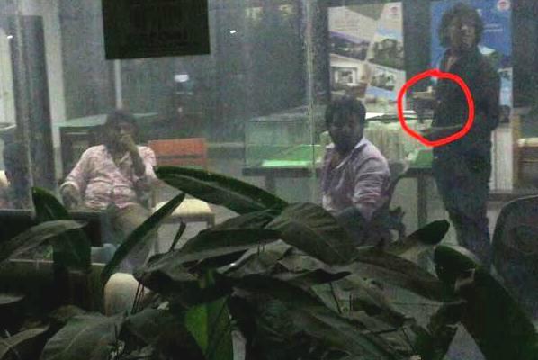 Bengaluru apartment residents terrified as builder sends goons gun caught on camera