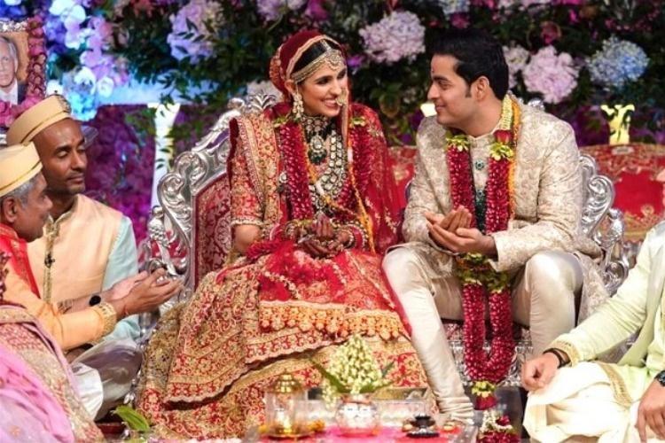 Akash Ambani and Shloka Mehta get married in a star-studded event