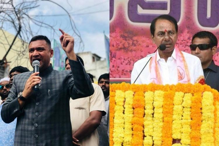 If Kumaraswamy can become CM cant we AIMIMs jolt to KCR