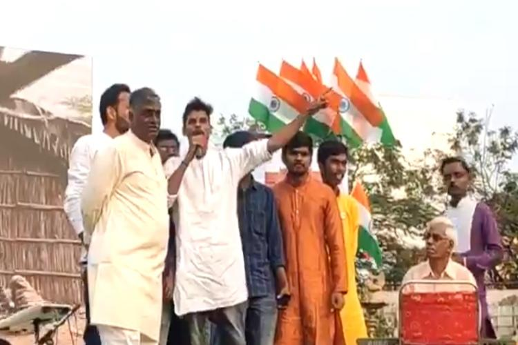 Will shoot and give you azaadi Hateful slogans raised at pro-CAA meet in Hyd