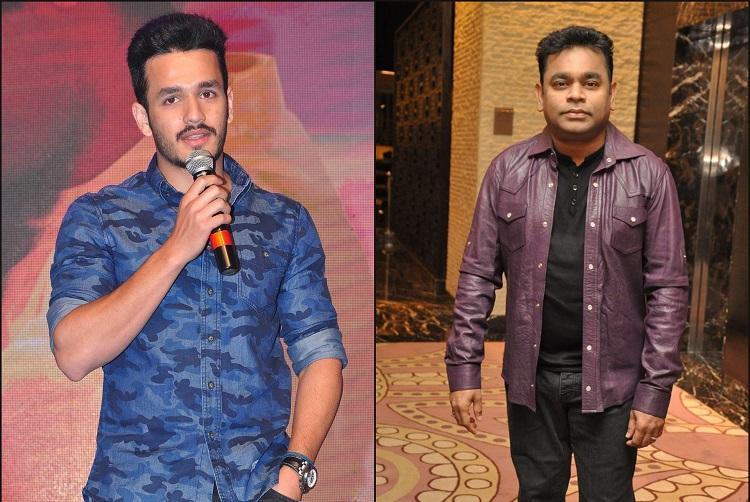 AR Rahman roped in for Akhil Akkinenis next film