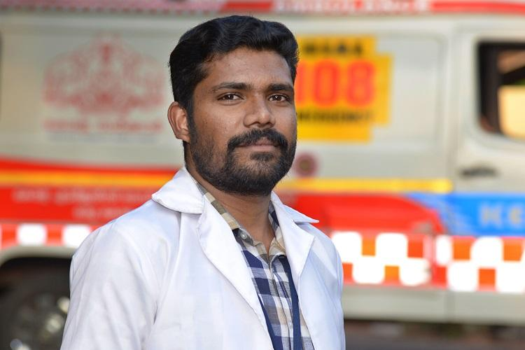 In this remote Kerala suburb an ambulance nurse has delivered 13 babies on his own