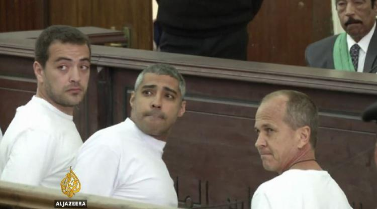 Al Jazeera journalists jailed for three years in Egypt