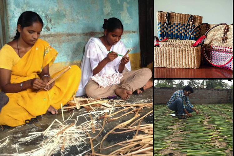 These Andhra women turn weeds into beautiful bags and you will definitely want to buy one
