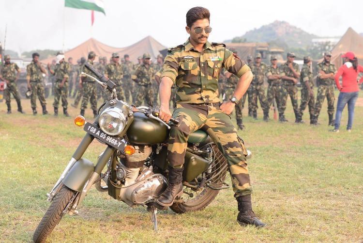 Allu Arjun braves tough weather conditions to film at Indo-Pak border