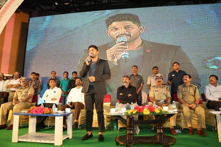 Drink if you must but dont drive Allu Arjun advises