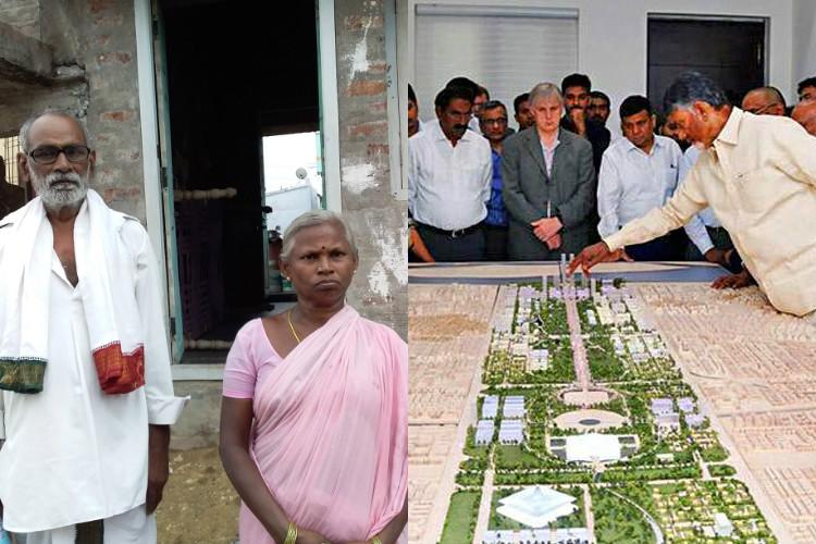 The cost of a sunrise city Tenant farmers around Amaravati pushed into poverty