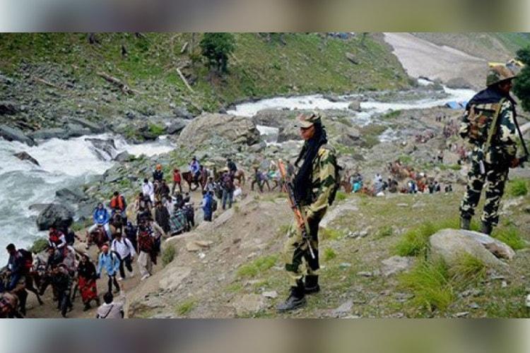 Despite terror attack Amarnath Yatra continues unabated
