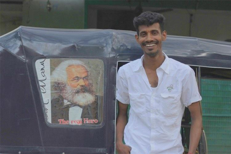 Browse magazines surf the net all in an auto Meet the Chennai autodriver who believes customer is god
