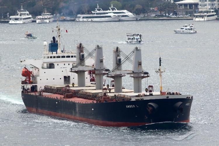 The Cargo Ship Amber L Source Vesselfinder