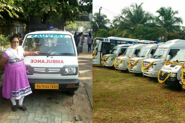 Putting tragedy behind This gritty mom from Mangaluru drives ambulance to run family