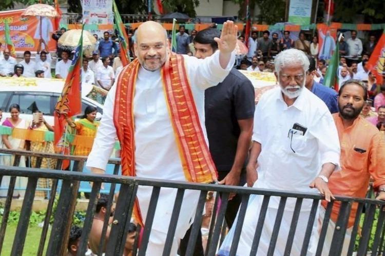 BJP Padayatra in Kerala Amit Shah to take fight into Pinarayi Vijayans hometown