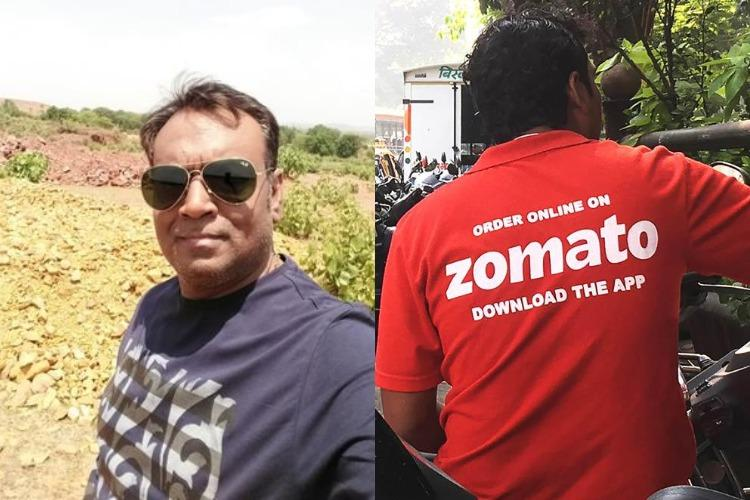Zomato delivery row Cops take undertaking from man to not spread religious hatred