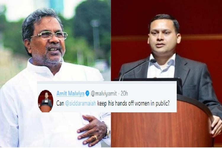 BJPs Amit Malviya tweets video casting aspersions on Siddaramaiahs character Cong livid