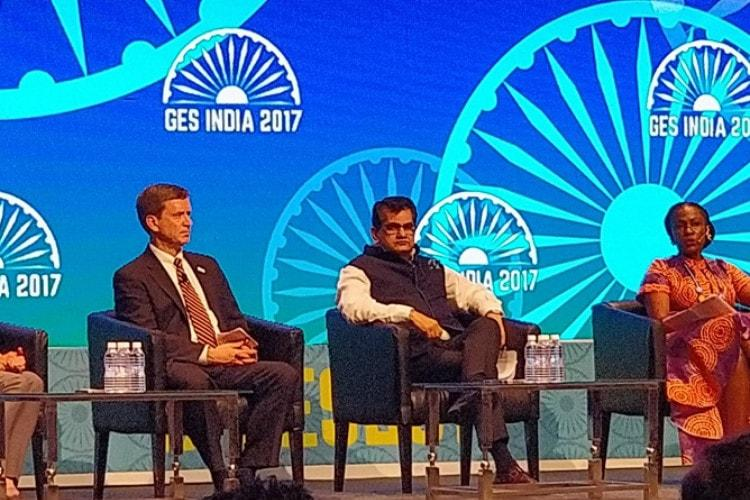 No shortage of funds for good business ideas Amitabh Kant bats for startups at GES