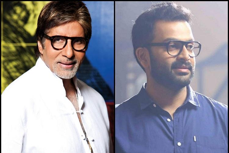 Prithviraj wants to rope in Big B if he directs a Hindi film