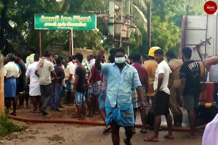 TN village wakes up to Ammonia gas leak plant owner arrested for endangering lives