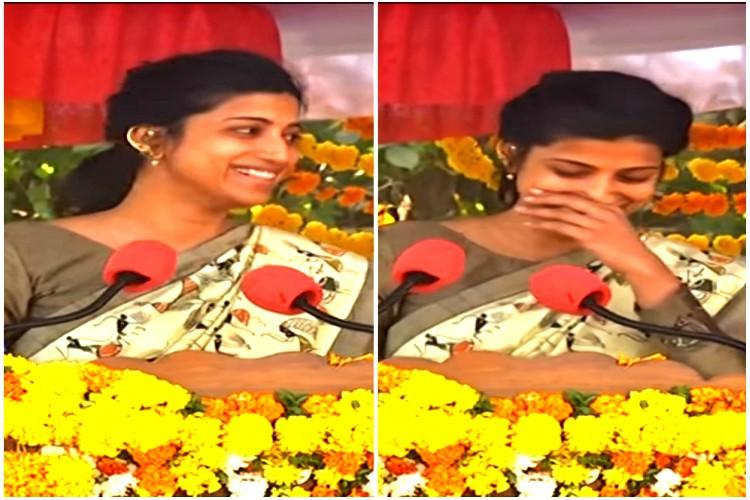 Warangal Collector Amrapali slammed for laughing during Republic Day speech