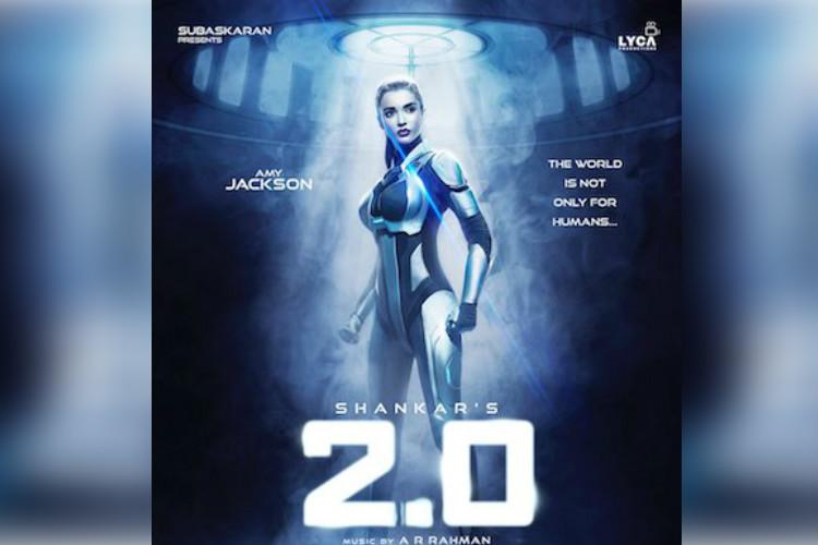 Amy Jackson's look in '2.0' creates a stir