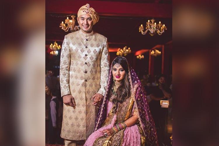 Photos Sania Mirzas sister Anam marries Azharuddins son Asad