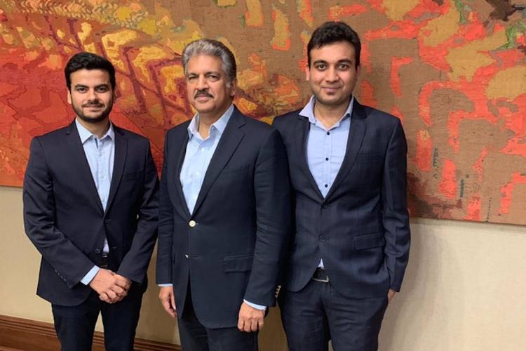 Anand Mahindra invests in Hapramp