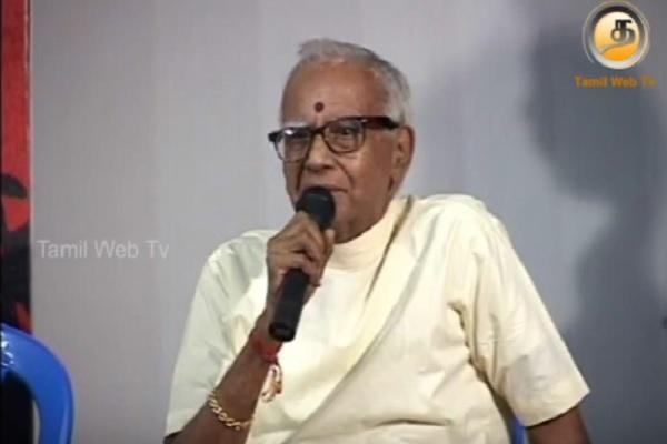 Tamil film historian Film News Anandan passes away