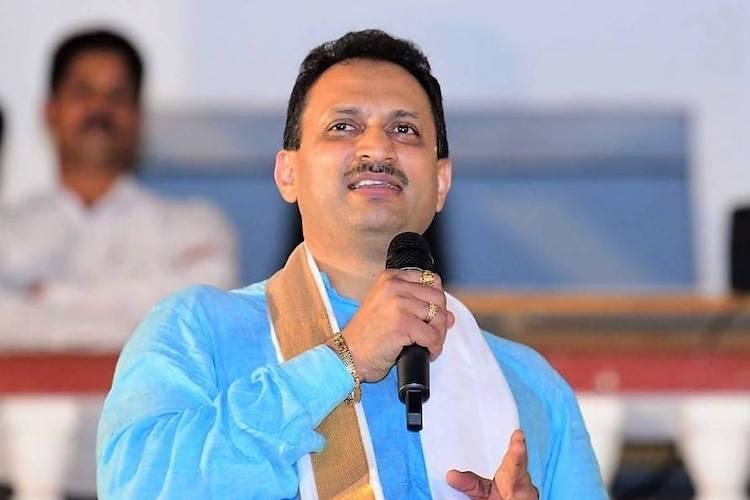 Hours after tweet backing Godse Central Min Anantkumar Hegde claims account hacked