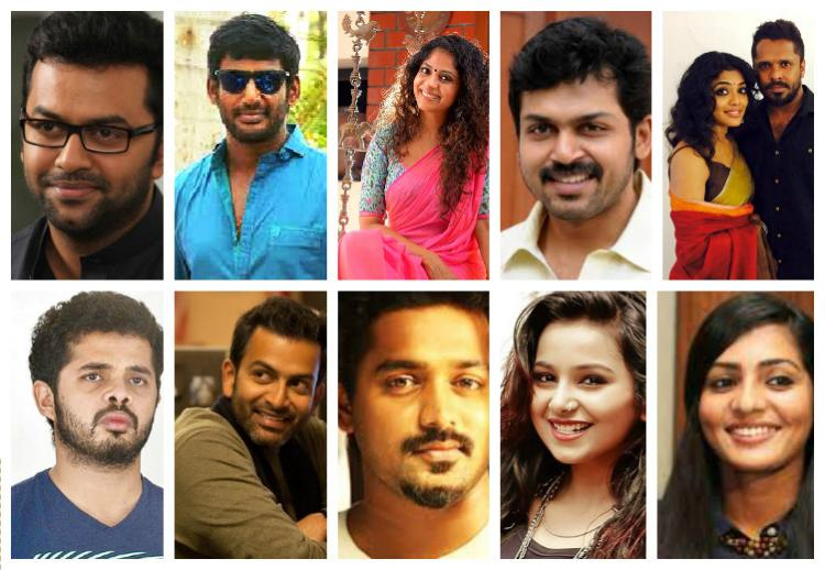 Anbodu Kochi How Kerala celebs coordinated with Tamil actors to send relief