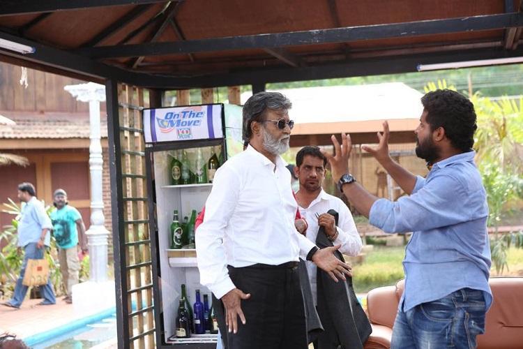 Superstar Rajinikanth calls and praises Kabali stunt masters