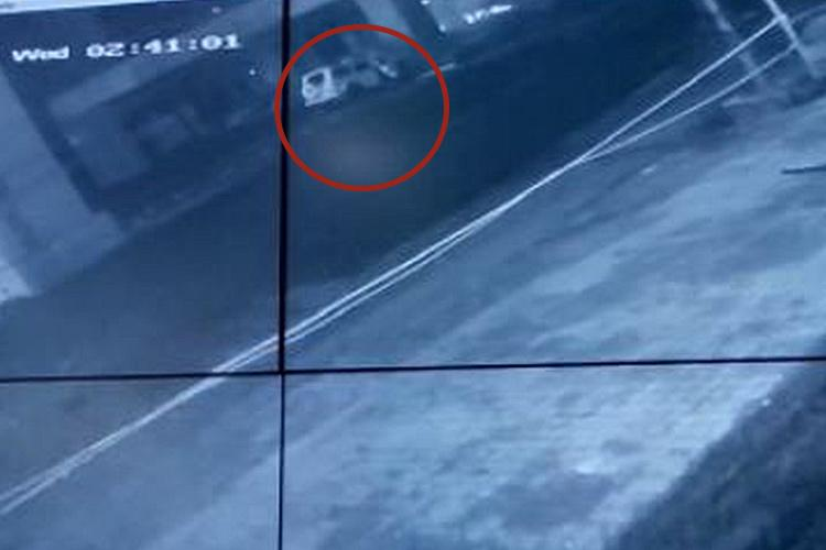 CCTV video of AP Ministers sons accident shows dangers of high speeds even in safest cars