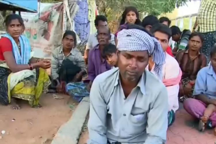 Andhra natives cry foul allege CITU workers snatched their brooms for not paying nokkukooli