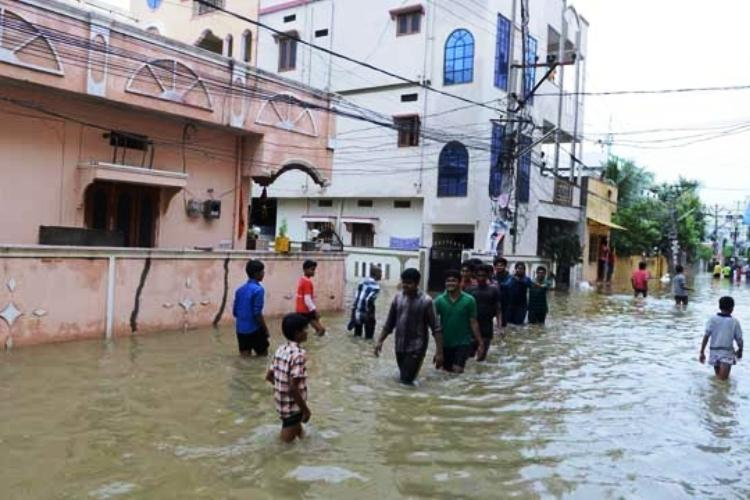 Two dead and many stranded as rain batters Andhra Guntur worst-hit