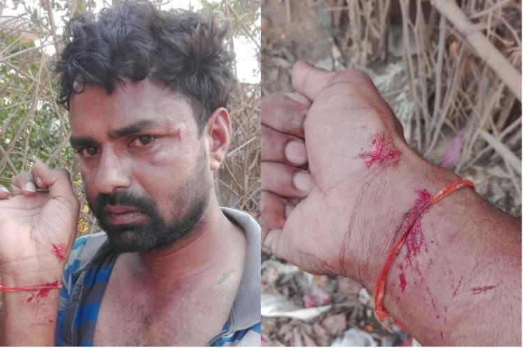 Reporter beaten up in Telangana for posting pictures of illegal sand excavation