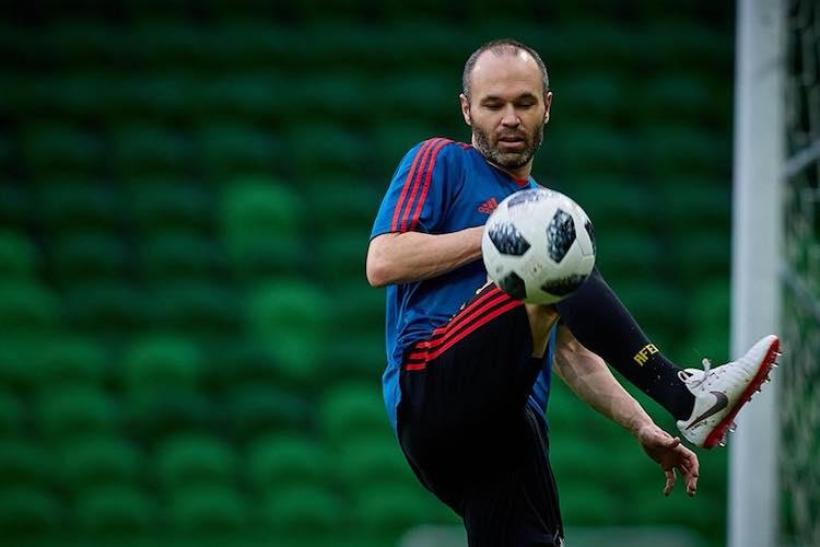 Spanish legend Iniesta retires after heartbreaking loss to Russia in World Cup
