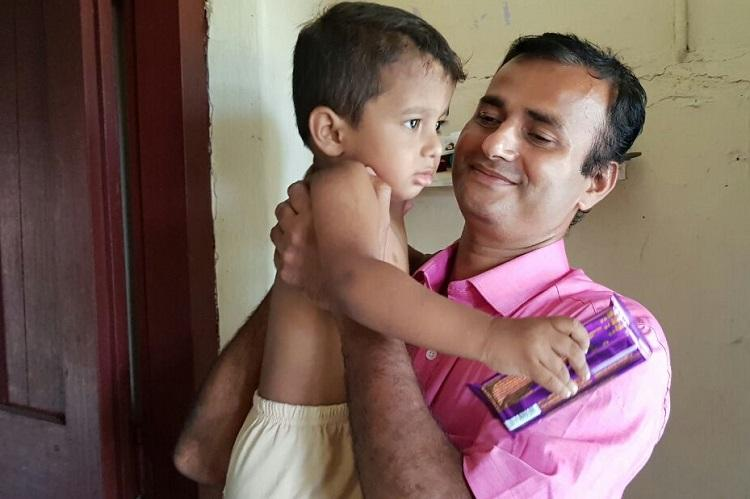 How a split-second glance helped a Kerala policeman save a toddler from railway tracks
