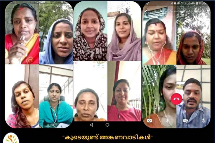 Kerala Anganwadi workers hold online sessions to advise pregnant women
