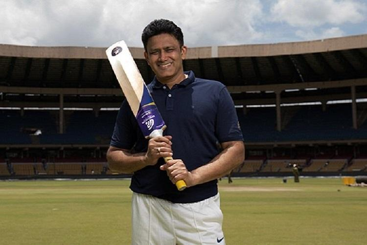 Anil Kumbles startup brings AI to cricket launches Power Bat
