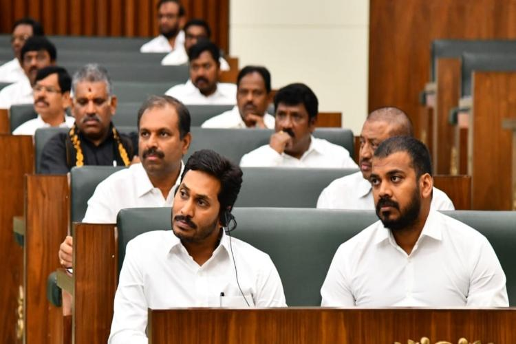 AP minister counters Naidu says ex- CMs flood plan would have created a big disaster