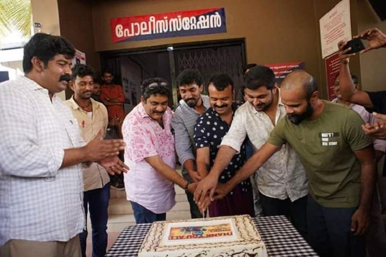 Anjaam Pathira team celebrates its success
