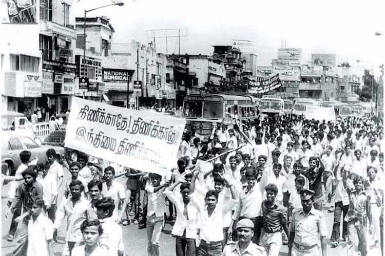 The history of anti-Hindi imposition movements in Tamil Nadu