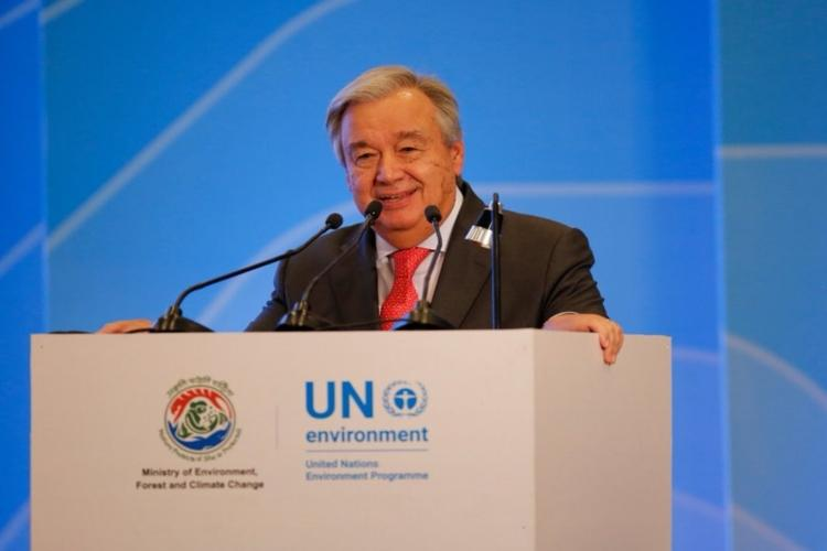 Anti-CAA protests in India UN chief concerned about violence police action