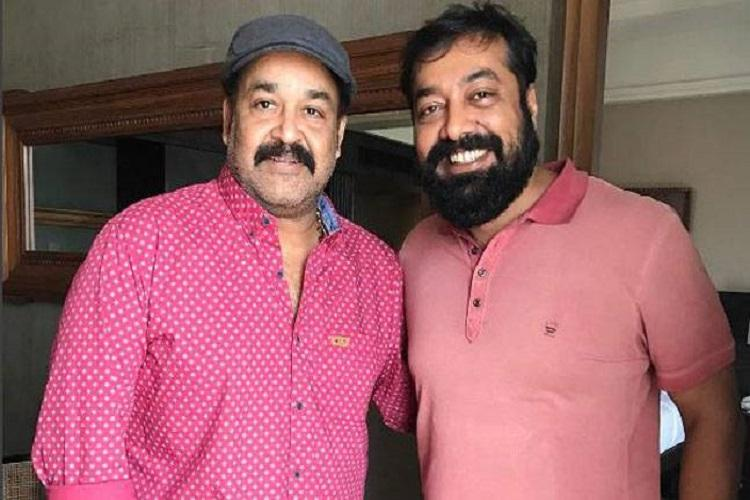 After collaborating on Malayalam film Moothon Anurag Kashyap now meets Mohanlal