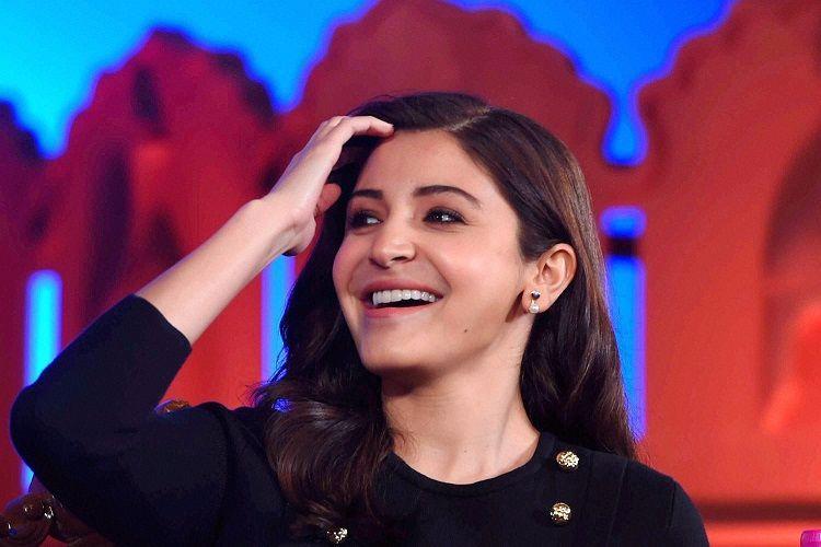 Actress producer Anushka Sharma at an interview