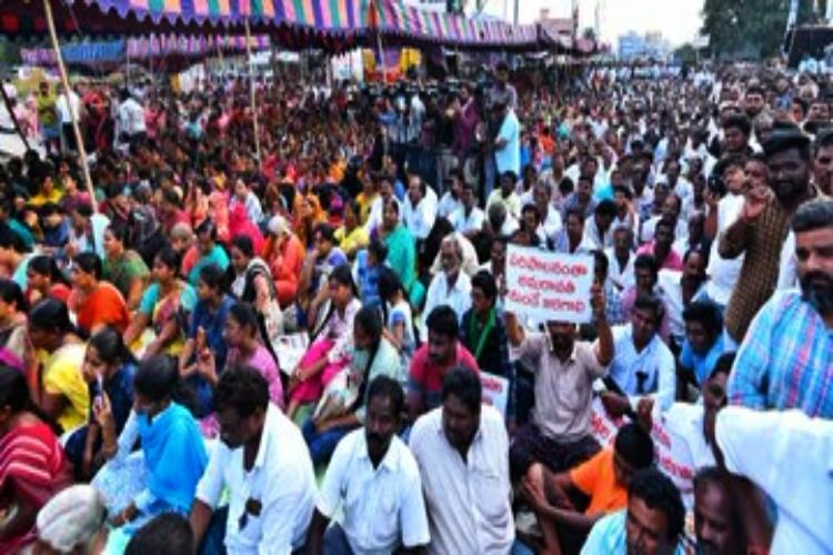 Opposition parties meet held in Andhras Amaravati against proposal to shift capital